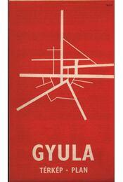 Gyula Város térképe - Régikönyvek