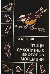 Moldávia szárazföldi élőhelyeinek madarai (Птицы сухопутных биотопов Молдав& - Régikönyvek