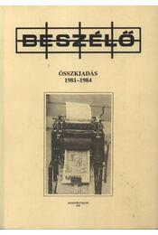 Beszélő 1981-1984 - Régikönyvek