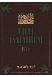 Újévi táncalbum 1958. - Régikönyvek