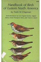 Handbook of Birds of Eastern North America - Régikönyvek