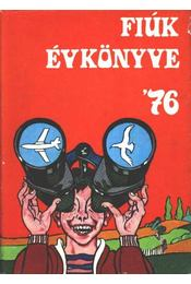 Fiúk évkönyve 1976 - Régikönyvek