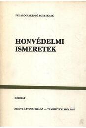 Honvédelmi ismeretek - Régikönyvek
