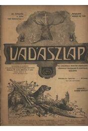 Vadászlap 1920. aug. 5. - Régikönyvek