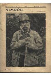 Nimród 1914. aug. 1. - Régikönyvek