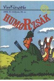 Humorzsák - Régikönyvek