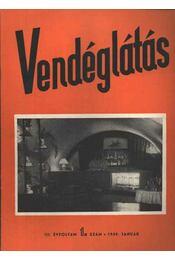 Vendéglátás III. évfolyam 1. szám 1959. január - Régikönyvek