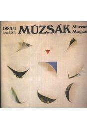 Múzsák Múzeumi Magazin 1985. évf. (teljes) - Régikönyvek