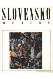 Slovensko I-IV. kötet - Régikönyvek