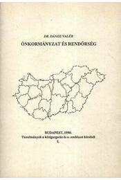 Önkormányzat és rendőrség - Régikönyvek