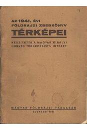 Az 1941. évi földrajzi zsebkönyv térképei - Régikönyvek