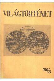 Világtörténet '80/3. - Régikönyvek