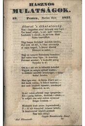 Hasznos mulatságok 1837/19. szám - Régikönyvek