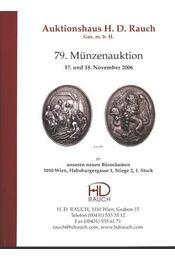79. Münzenauktion - Régikönyvek