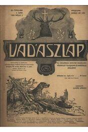 Vadászlap 1920. május 5. - Régikönyvek