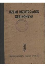 Üzemi bizottságok kézikönyve - Régikönyvek