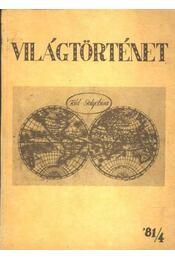 Világtörténet '81/4. - Régikönyvek