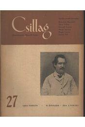 Csillag 27 1950. február IV. évfolyam - Régikönyvek