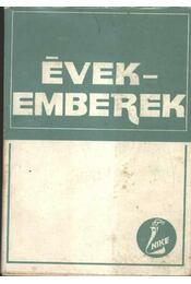 Évek - emberek - Régikönyvek