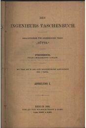 Des Ingenieurs Taschenbuch I-II. - Régikönyvek
