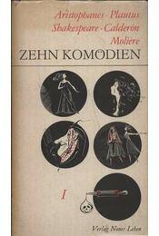 Zehn Komödien I-II. kötet - Régikönyvek