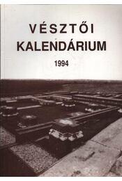 Vésztői kalendárium 1994 - Régikönyvek