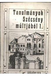 Tanulmányok Szécsény múltjából 1 - Régikönyvek