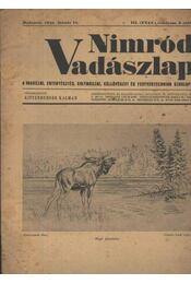 Nimród Vadászlap 1948. jan. 15. - Régikönyvek