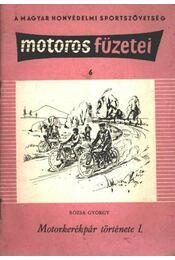 Motorkerékpár története I. - Régikönyvek