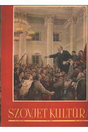 Szovjet kultúra 1951. október 10. szám - Régikönyvek