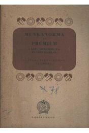 Munkanorma és prémium - Régikönyvek