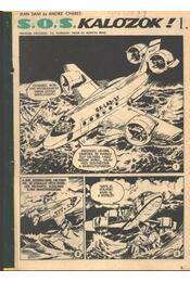 S. O .S .kalózok ! ( Füles1968. 35-38 szám 1-4 rész) - Régikönyvek