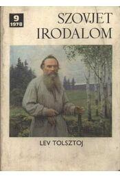 Szovjet irodalom 1978/9. - Régikönyvek