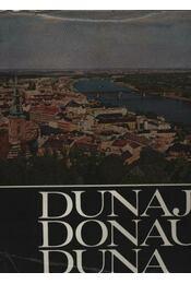 Dunaj, Donau, Duna - Régikönyvek