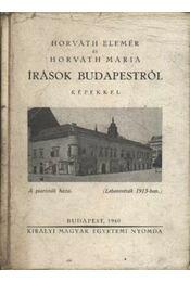 Írások Budapestről - Régikönyvek