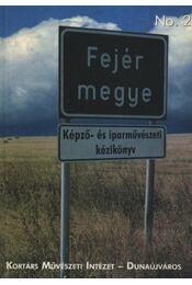 Fejér megye Képző- és iparművészeti kézikönyv - Régikönyvek
