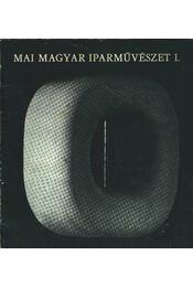 Mai magyar iparművészet I. - Régikönyvek