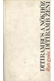 Ditirambus a nőkhöz - Régikönyvek