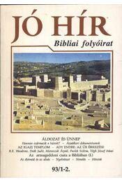 Jó Hír 93/1-2. - Régikönyvek