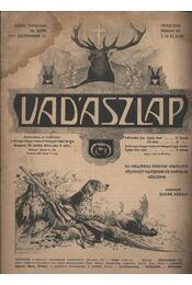 Vadászlap 1917. szept. 15. - Régikönyvek