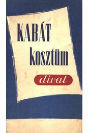Kabát-kosztüm-divat - Régikönyvek