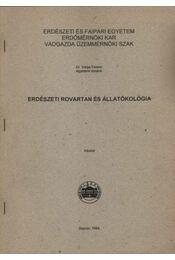 Erdészeti rovartan és állatökológia - Régikönyvek