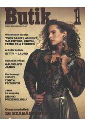 Butik 1991. január - Régikönyvek