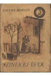 Szinek és évek - Régikönyvek