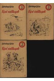 Egri csillagok I-II-III. kötet - Régikönyvek
