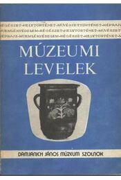 Múzeumi levelek 63-64. sz. - Régikönyvek