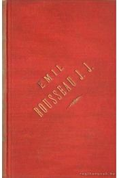 Emil vagy a nevelésről - Régikönyvek