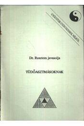 Tüdőasztmásoknak - Régikönyvek