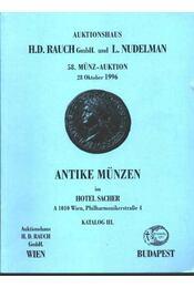 Antike münzen - katalog III. - Régikönyvek