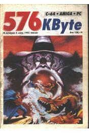 576 KByte 1993/2. sz. - Régikönyvek